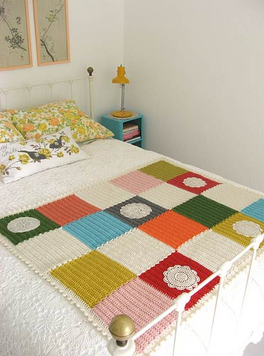 Crocheted Blanket via http://dottieangel.blogspot.com