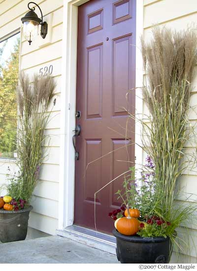 How To Create An Autumn Entry Display For Under $20