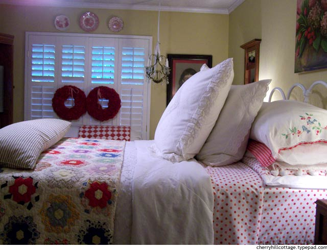 Bedroom at Cherry Hill Cottage
