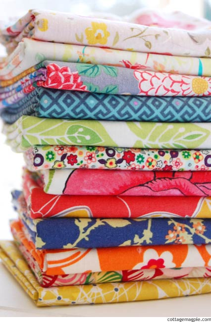 Bohemian Color via cottagemagpie.com