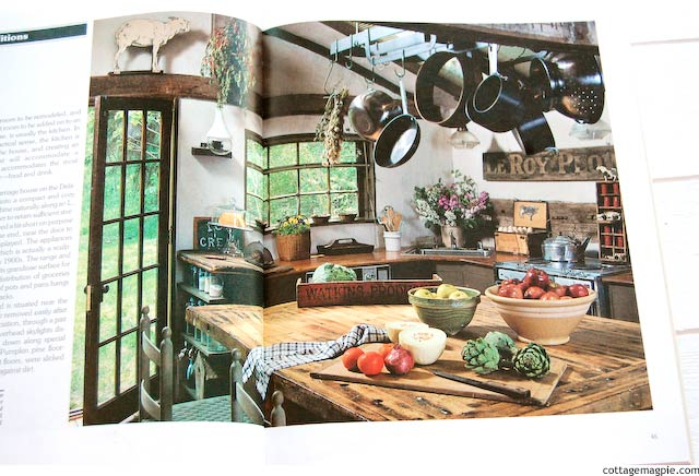 Book: The Country Living Book of Country Kitchens via cottagemagpie.com