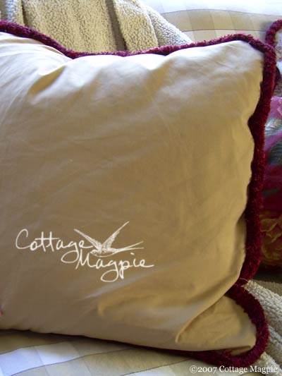 Christmas Pillow Giveaway, Day 3