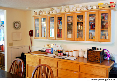 China Hutch in Dining Room