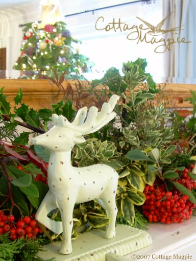 Dress Your Mantel With Evergreen Garden Foliage