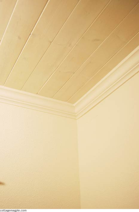 Guest Bath Paneled Ceiling