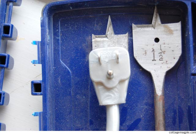 Finding the Right Spade Bit via Cottage Magpie
