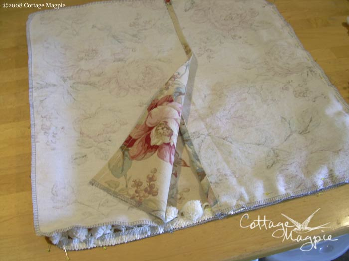 Step 8: Pillow Cover & How To Sew A Throw Pillow Cover In 10 Easy Steps \u2014 Cottage Magpie pillowsntoast.com