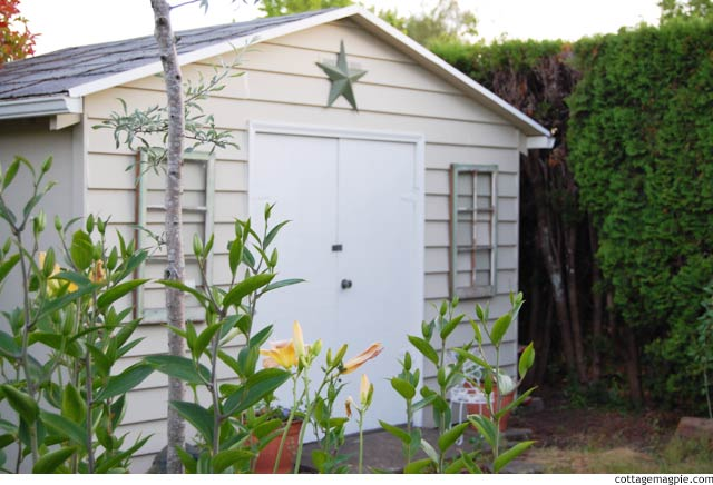 Introducing the Magic Shed is Done via cottagemagpie.com
