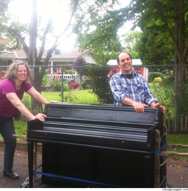 Our Family Adventure: Moving a Piano via cottagemagpie.com