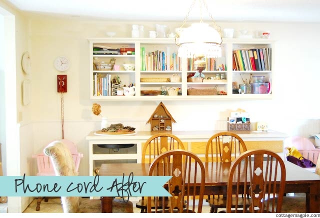 Dining Room Progress via cottagemagpie.com