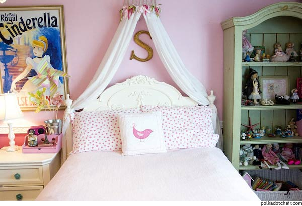 Daughters Room from The Polkdadot Chair