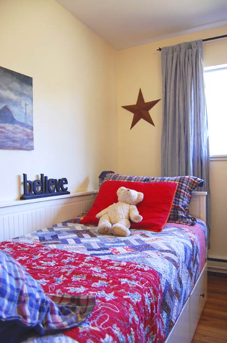 Thrifty Western Boys Bedroom