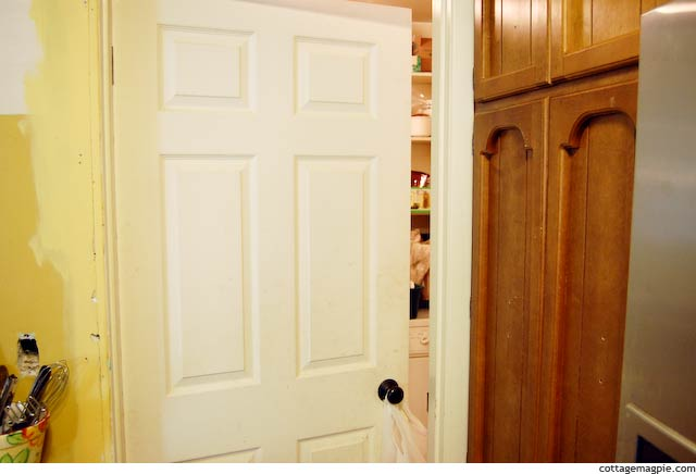 Door To Pantry