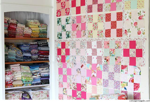When the Going Gets Tough, the Tough Get Sewing via cottagemagpie.com