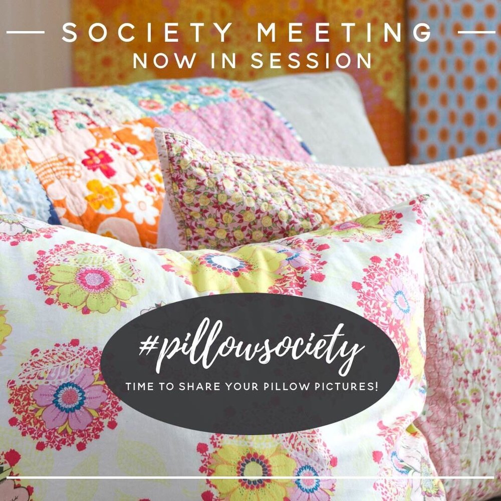 Pillow Society is Now in Session - via www.cottagemagpie.com