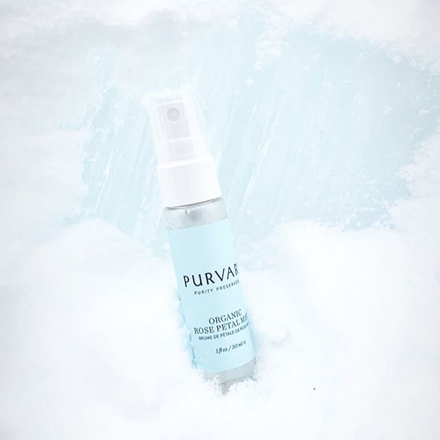 Will this winter EVER end? Don't dispair, mist rosewater directly onto face for an uplifting mood booster. ✨Take 25% OFF your ENTIRE ORDER with code SPRING. We promise, it's coming! . . . #purvari #rosewater #farmboundpharmfree #organicskincare #skincare #purebeautyglobalawards2019