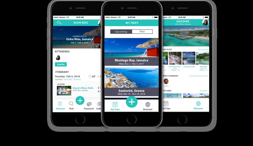 vacation planner app