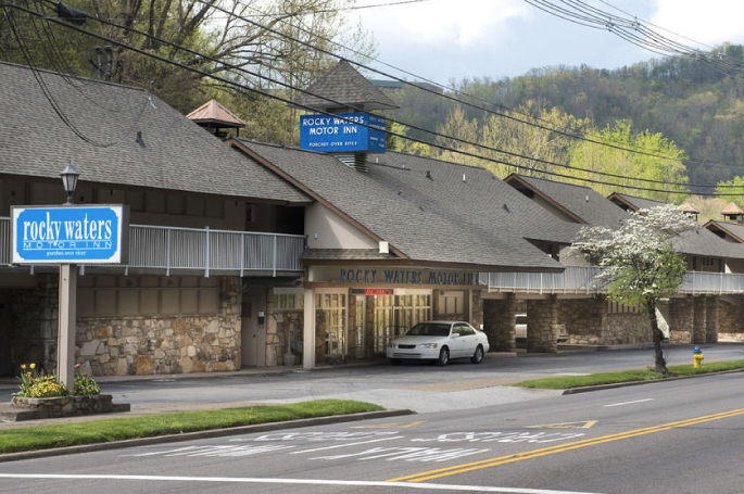 Located Downtown Gatlinburg at Light #2