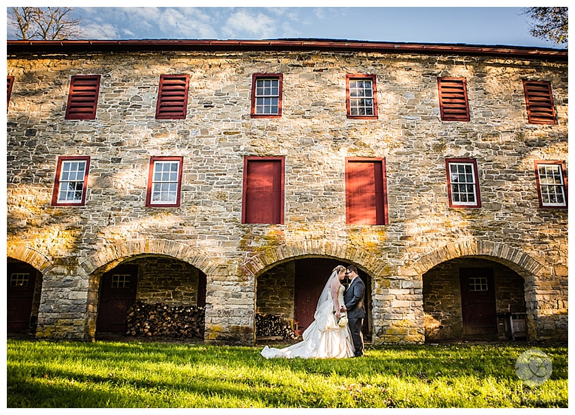 Lehigh Valley Barn Wedding Portraits