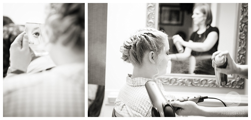 Lehigh Valley Wedding Bride Getting Ready