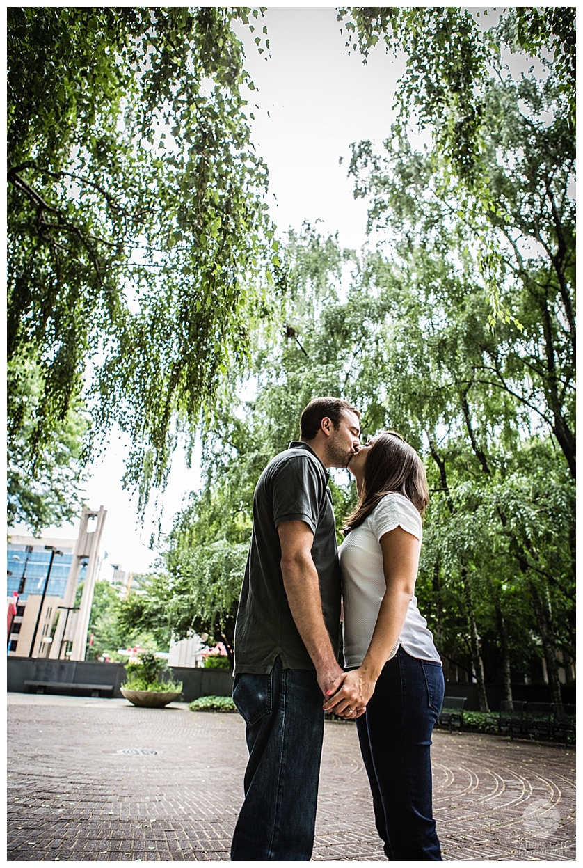 Temple University engagement photos