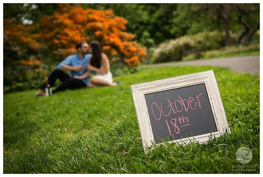 Gray Klein Engagement Philadelphia October 18