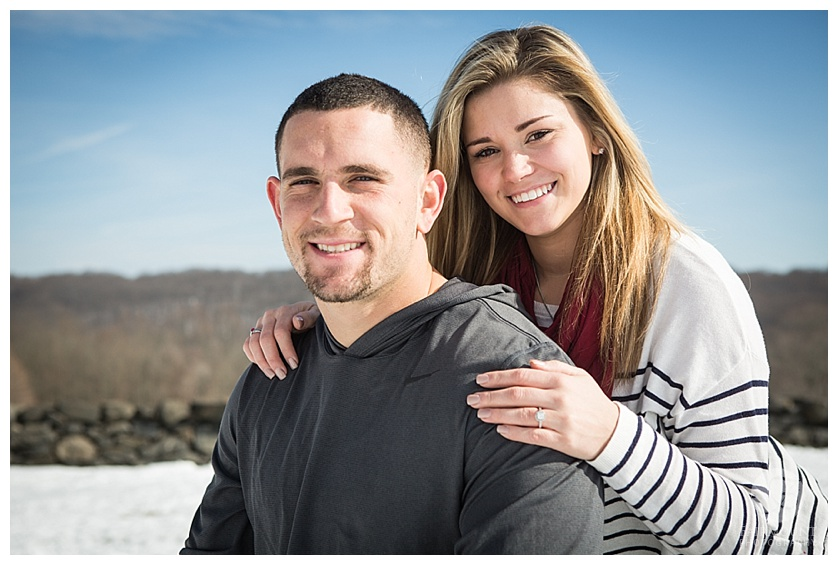 Gina Natale and Paul Worrilow Engagement at Brandywine Creek State Park