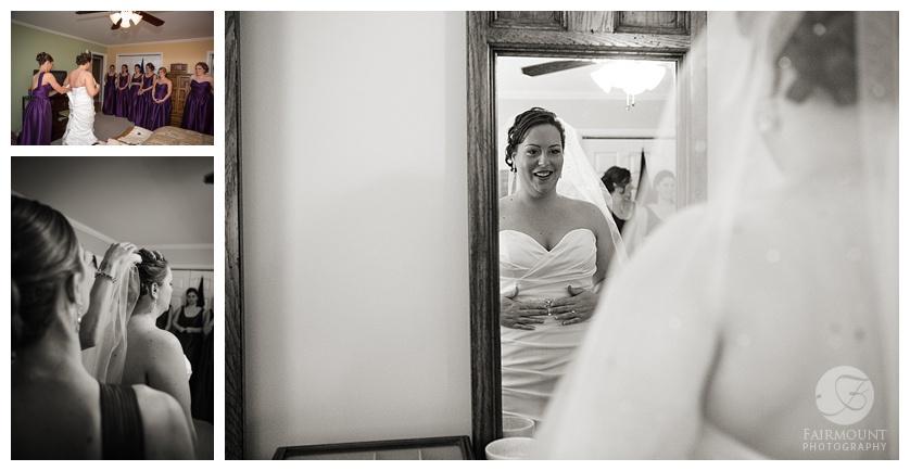 Nothstein Wedding bride getting ready