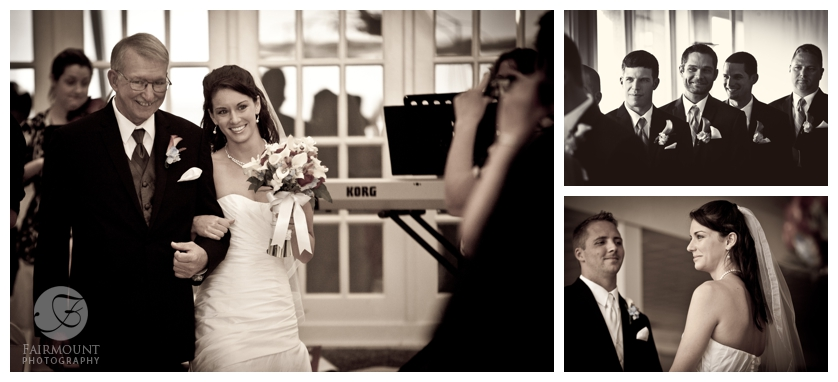 Philadelphia Wedding Photography Beach Ceremony Entrances