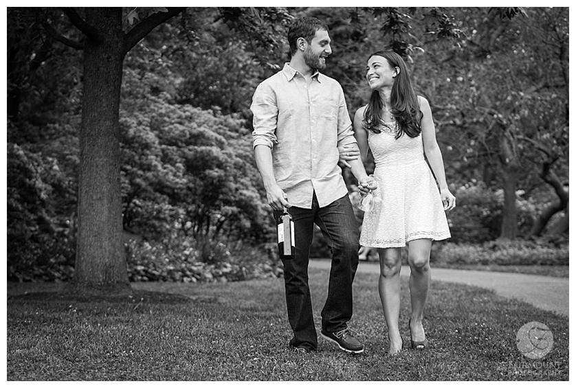 Gray Klein Engagement Philadelphia