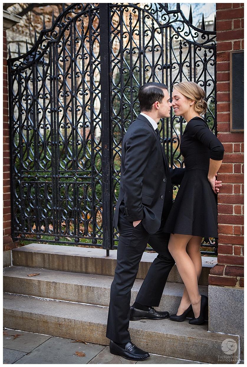 Tobiase Fanandakis Engagement Philadelphia