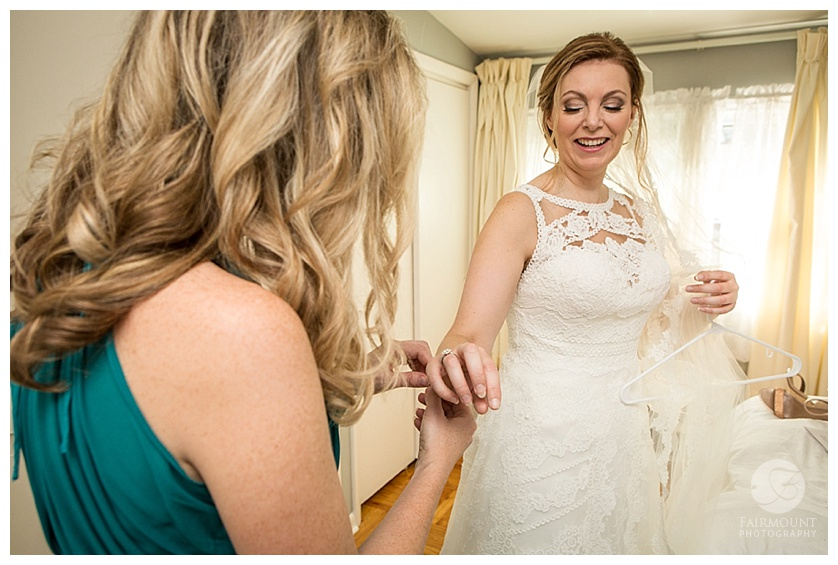 Townsend Room Wedding Bride Getting Ready