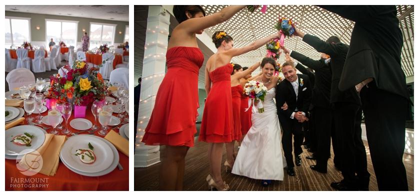 Philadelphia Wedding Photography Beach Ceremony Archway