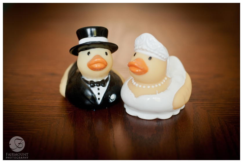 Wedding rubber duckies