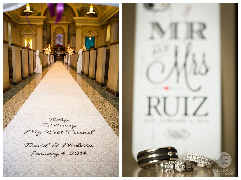 mr and mrs ruiz st monica's church