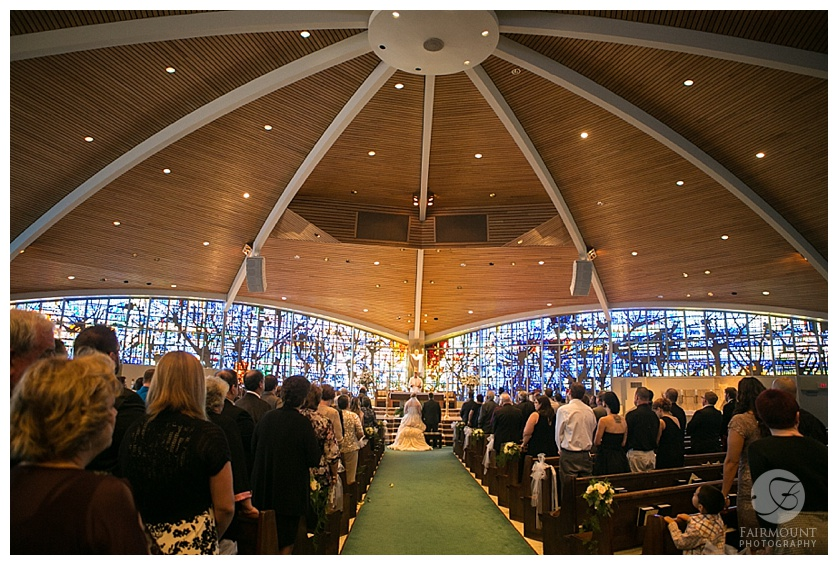 Wedding at St. Thomas More in Allentown