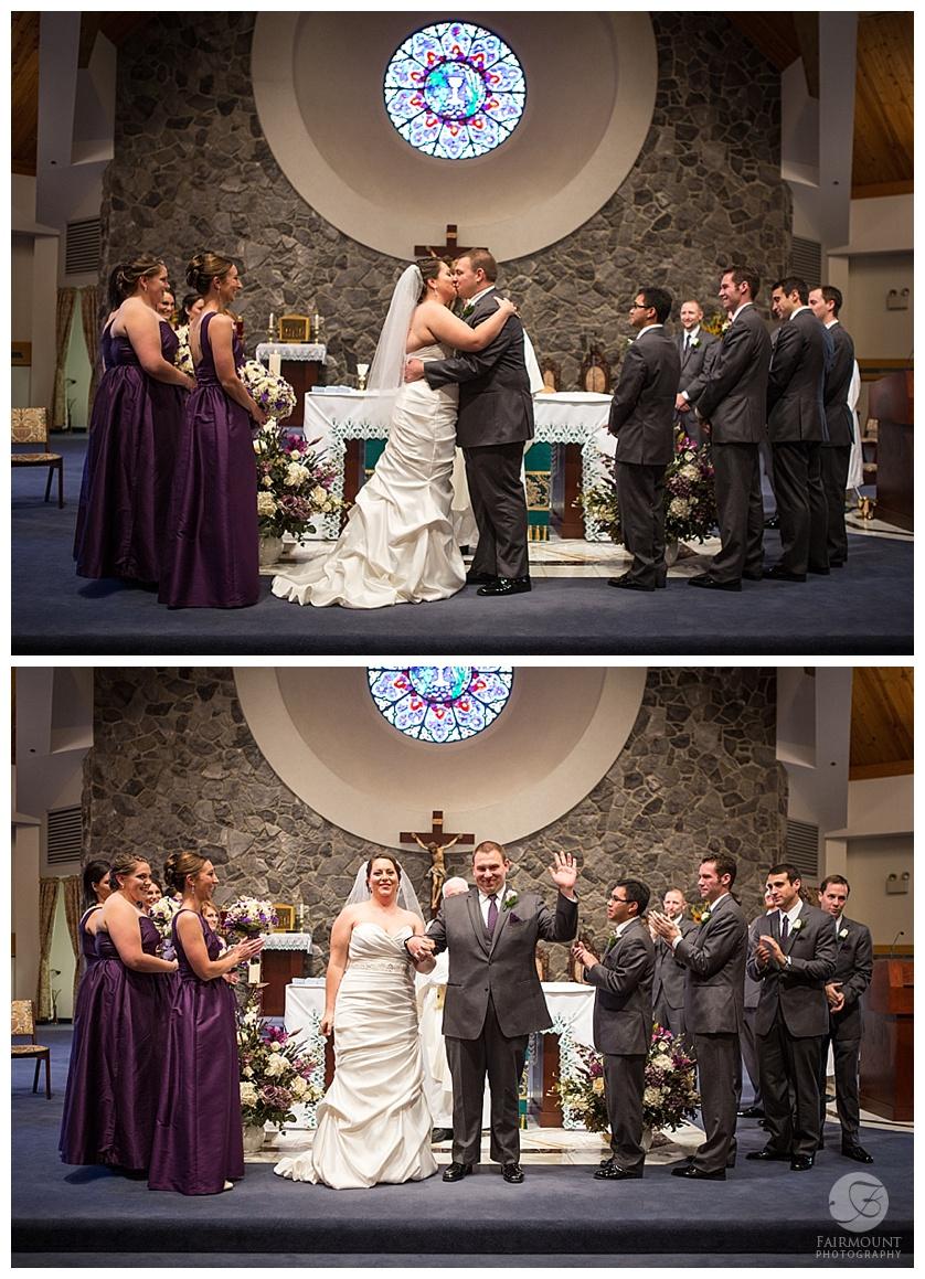 Nothstein Wedding kiss the bride