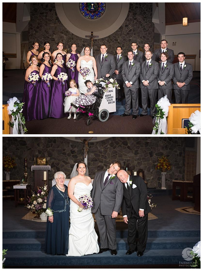Nothstein Wedding bridal party portraits