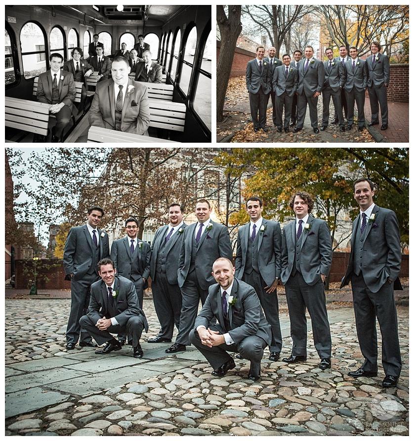 Nothstein Wedding groomsmen