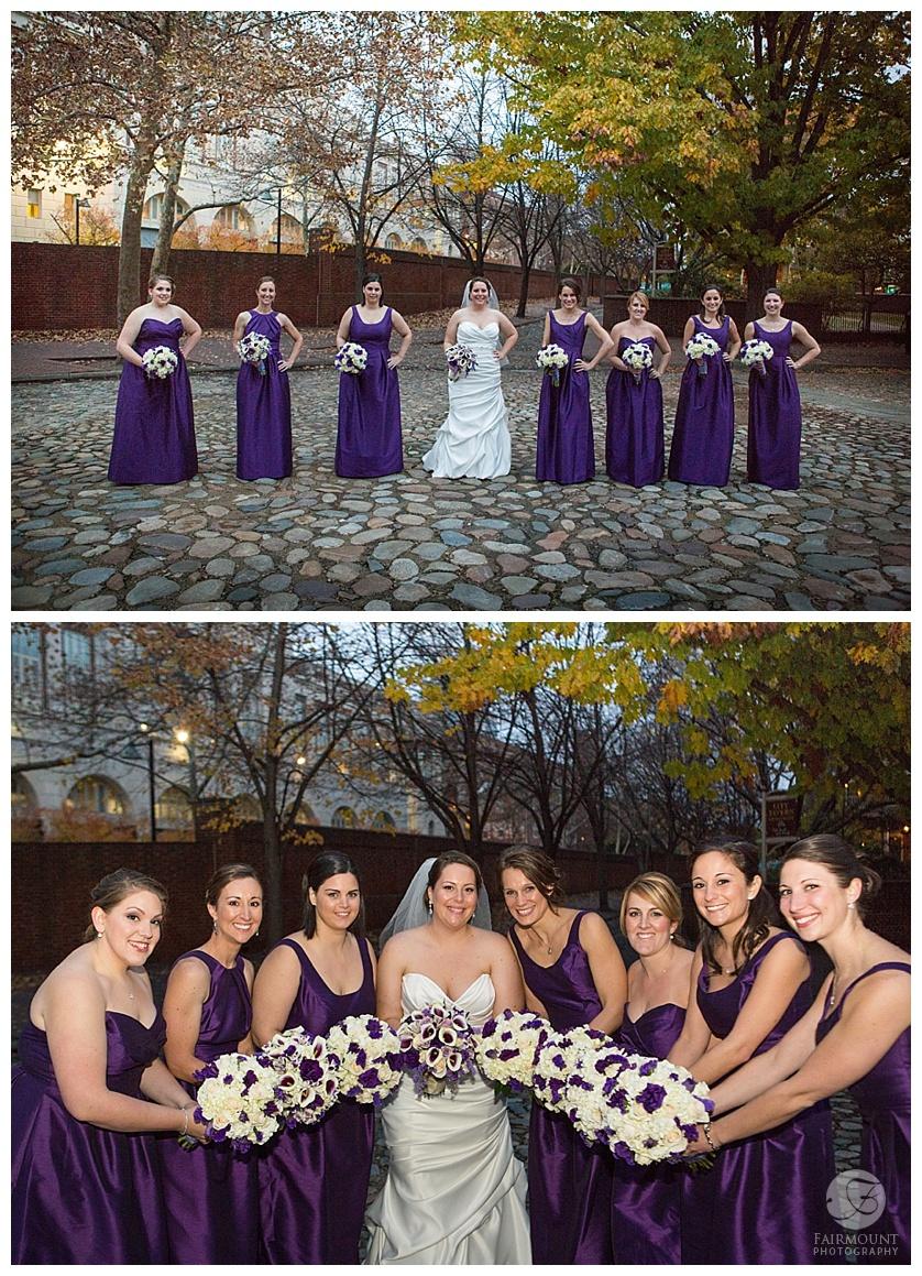 Nothstein Wedding bridesmaids