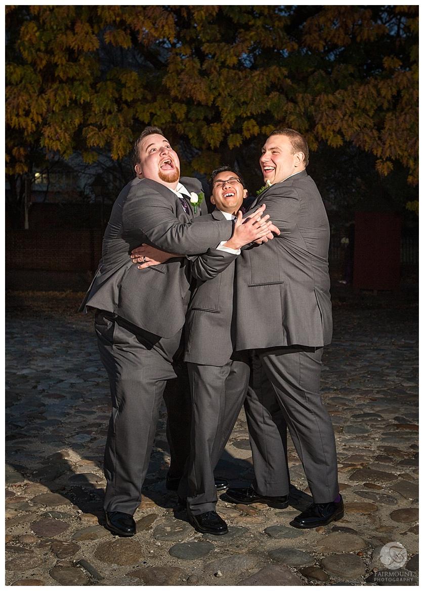 Nothstein Wedding groom and groomsmen