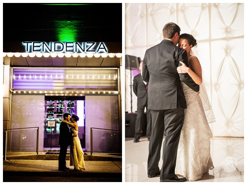 first dance at tendenza