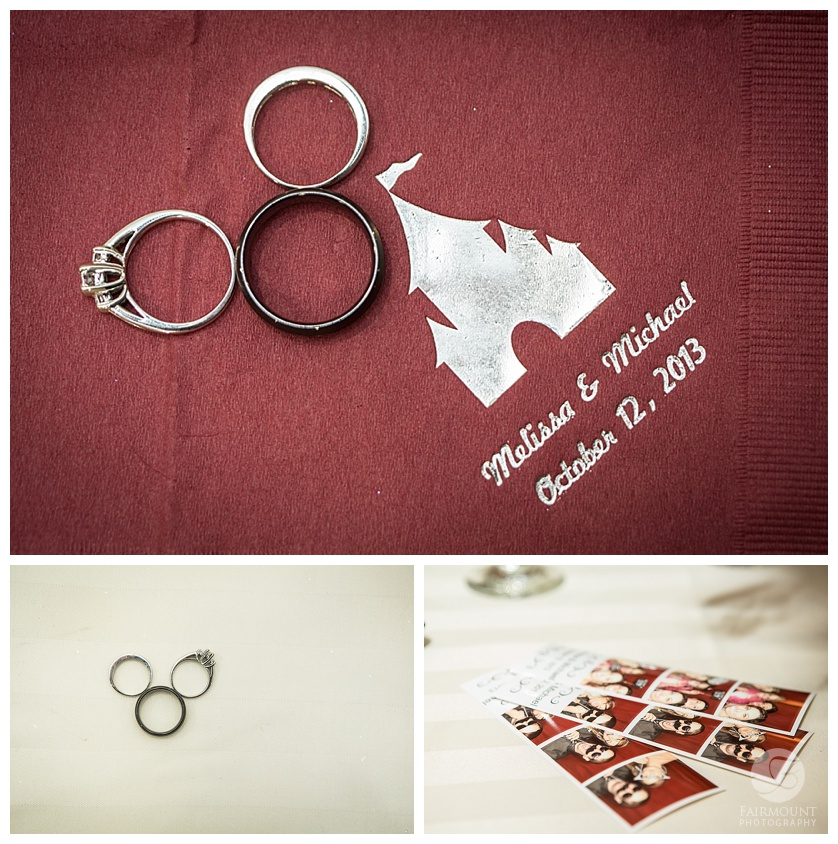 Disney Themed Wedding Details