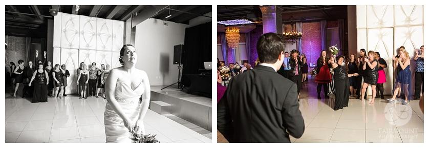 Nothstein Wedding bouquet toss