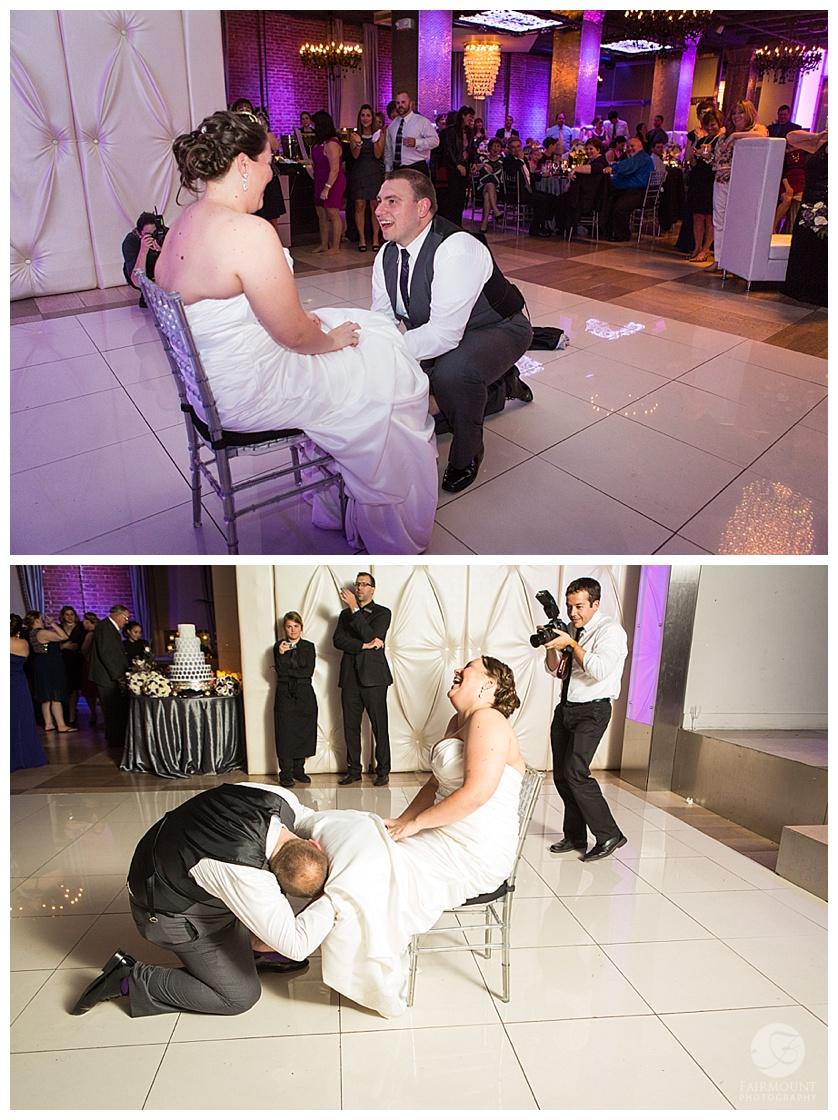 Nothstein Wedding garter toss
