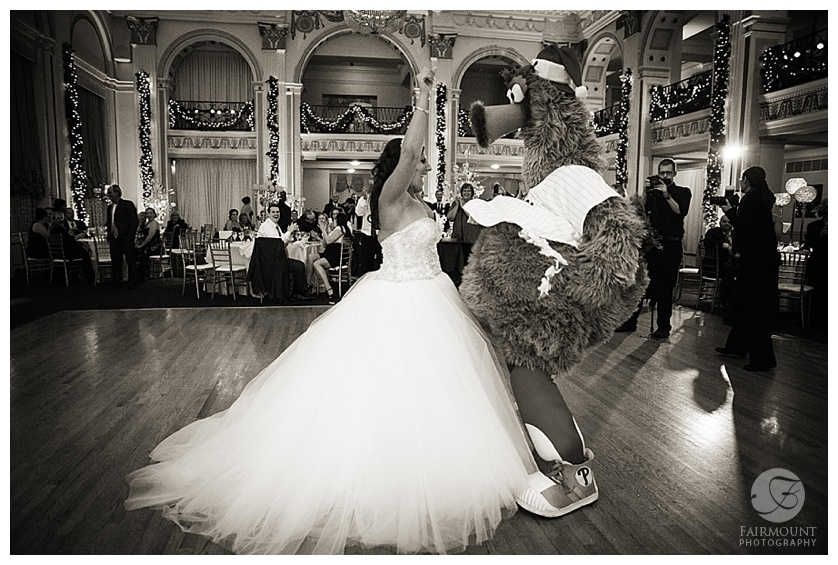 ruiz wedding reception philly phanatic