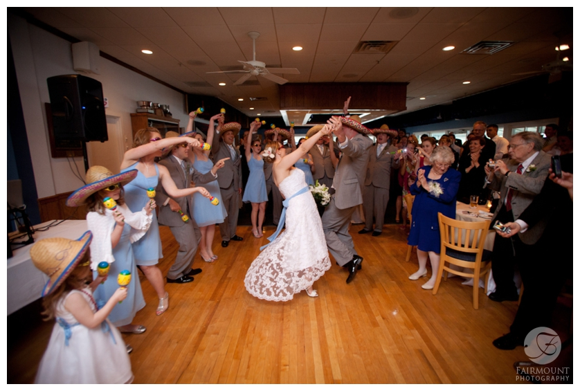 First dance at Tom's River Yacht Club reception