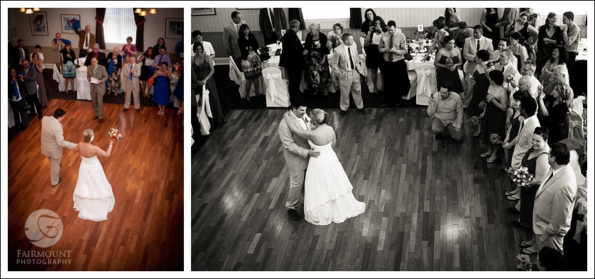 First dance at Ocean City Yacht Club