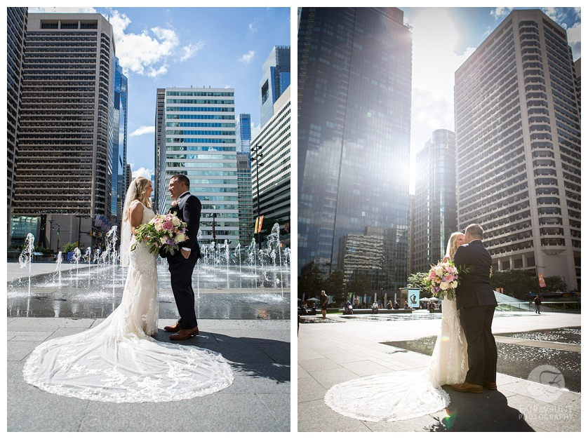Dilworth Park Wedding Portraits