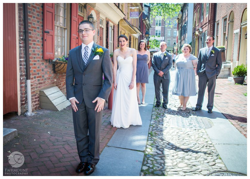 First look at Elfreth's Alley in Olde City Philadelphia